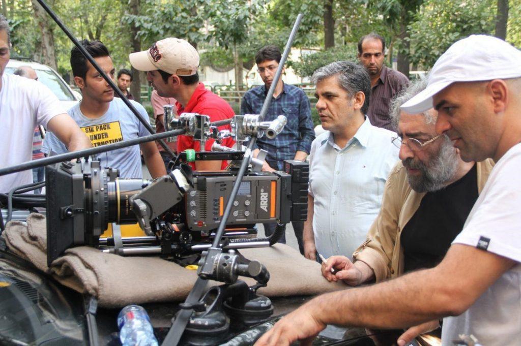 استاد مسعود کیمیایی در پشت صحنه فیلم قاتل اهلی