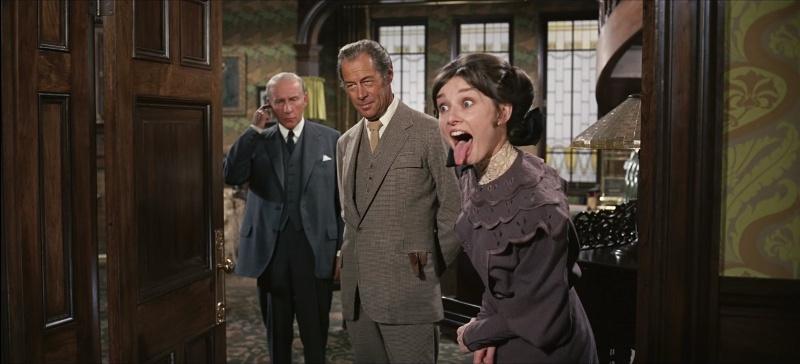 آئودری هپبورن در اوایل فیلم بانوی زیبای من
