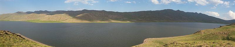 عکس 360 درجه از دریاچه نئور اردبیل