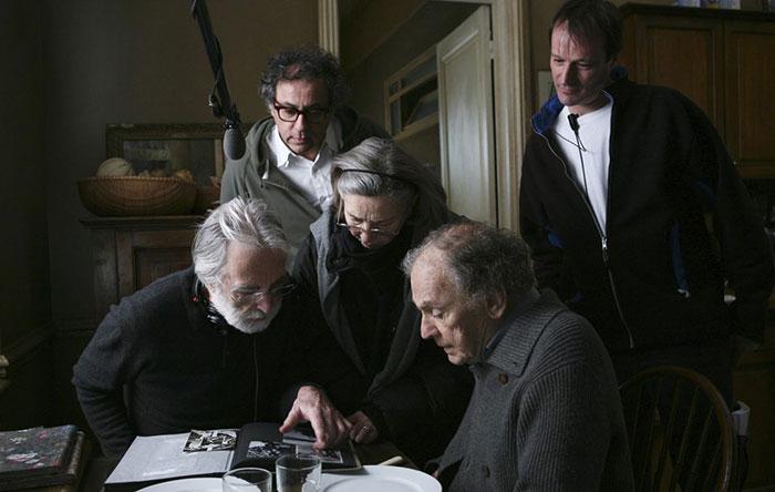 داریوش خنجی فیلمبرداری فیلم «عشق» (Amour) ساخته «میشل هانکه» را هم برعهده داشت