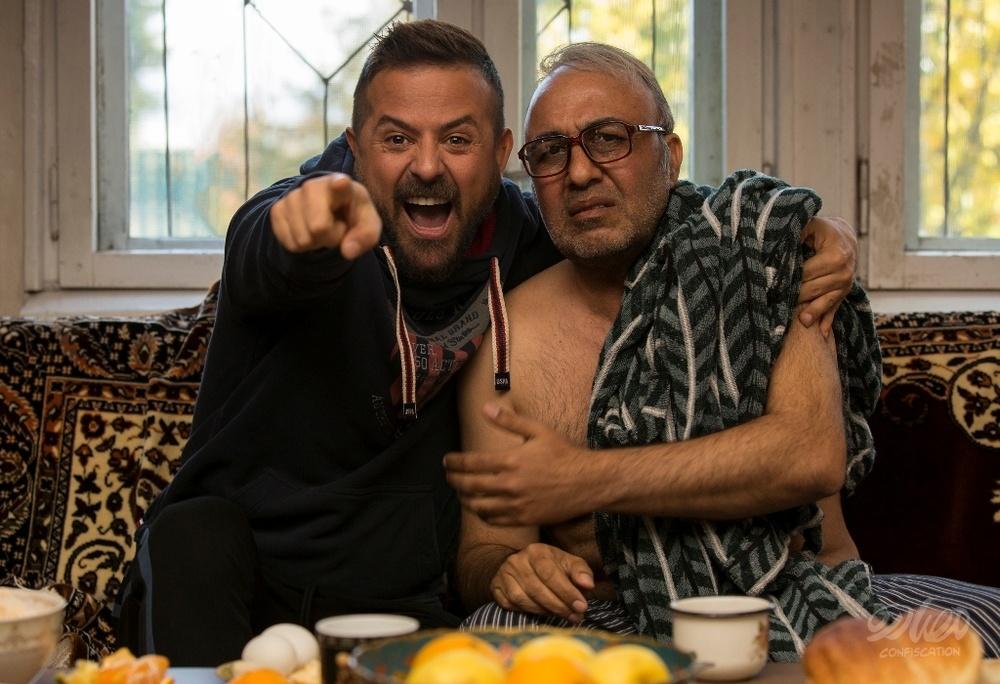 هومن سیدی و رضا عطاران در فیلم مصادره