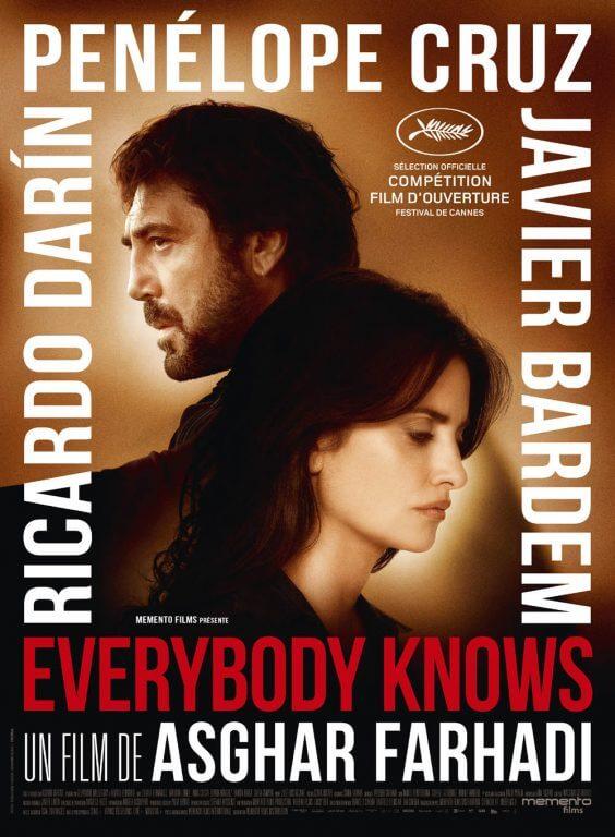 پوستر رسمی فیلم «همه می دانند»